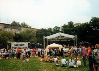Koncert Szczecin powodzianom 97r.