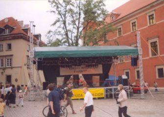 Warszawa - koncert integracyjny 2002 r.