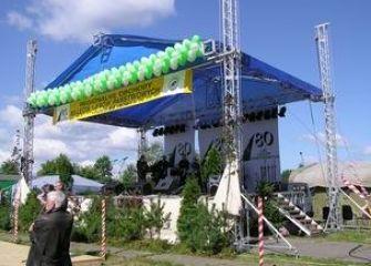 80-lecie Lasów Państwowych Trzebież 2004 r.