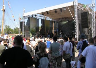 Szczecin Zlot Żaglowców 2007 r.